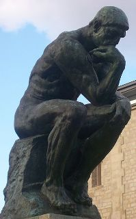 Rodin's Le Penseur (The Thinker) at the Musée Rodin