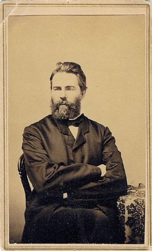 Herman Melville, 1861