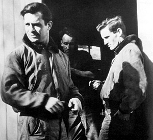 Kerouac (left) and Neal Cassady
