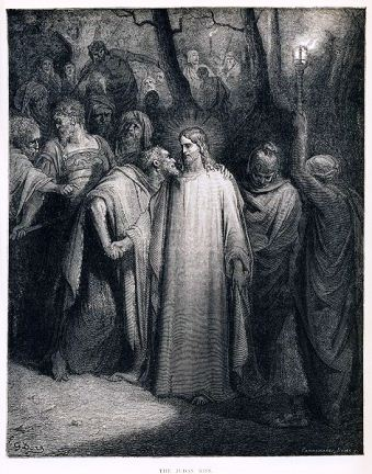 The Judas Kiss by Gustave Doré, 1866