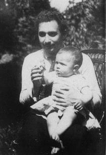 Albert Einstein with his son Hans Albert
