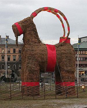 yule-goat
