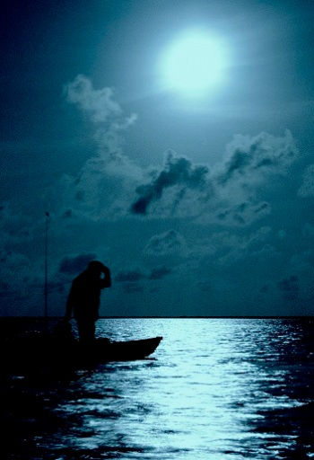 fishing by the full moon