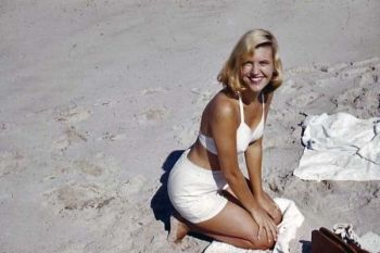At the Beach with Sylvia Plath