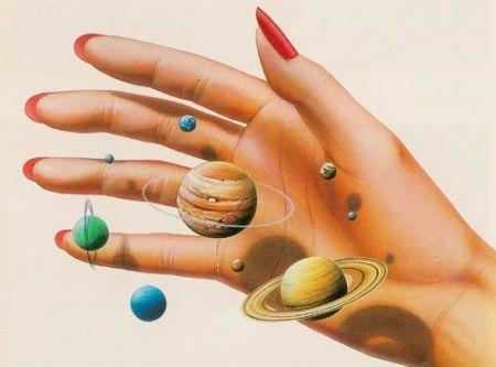 solarsystem hand