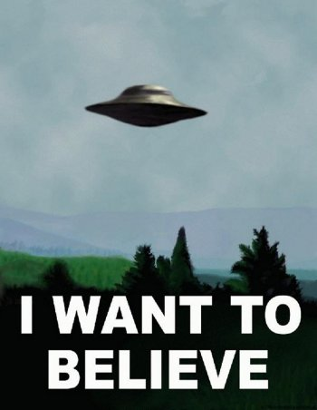 i want to believe x files