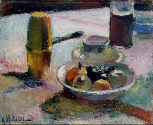 Matisse - Fruit and Coffeepot