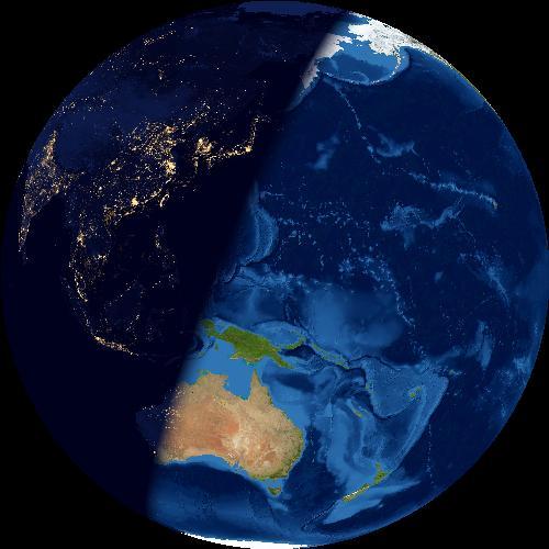 firts-quarter-earth