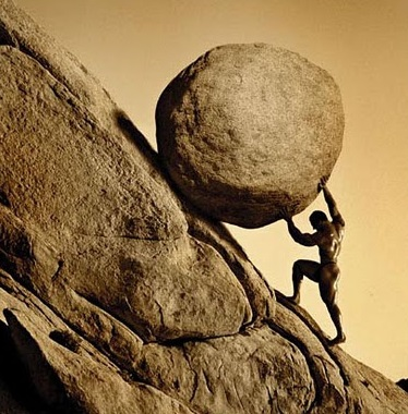 Sisyphus - Maybe too much grit?
