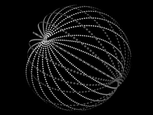 Artist's impression of a Dyson swarm