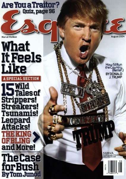 Trump cover from 2004