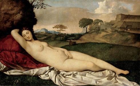 Giorgione - Sleeping Venus