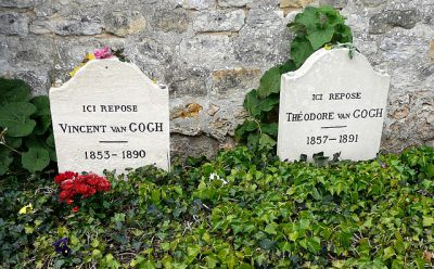 Vincent and Theo's graves at Auvers-sur-Oise