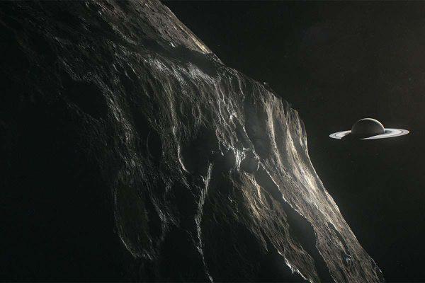 Iapetus and Saturn