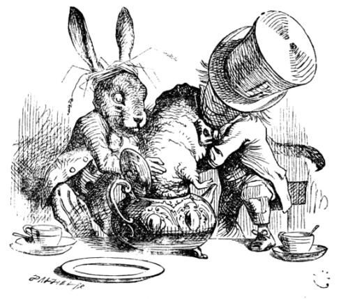 illustration from Alice in Wonderland
