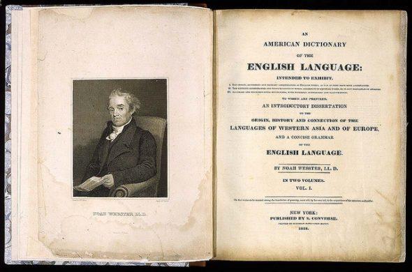 original Webster dictionary