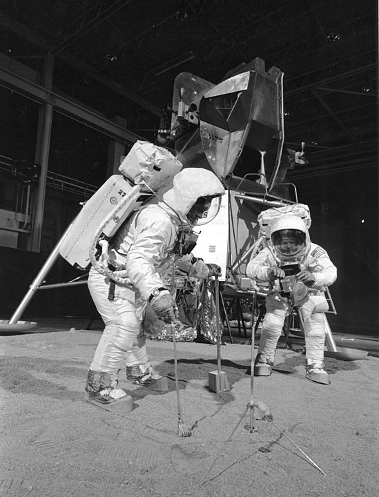 Apollo 11 training