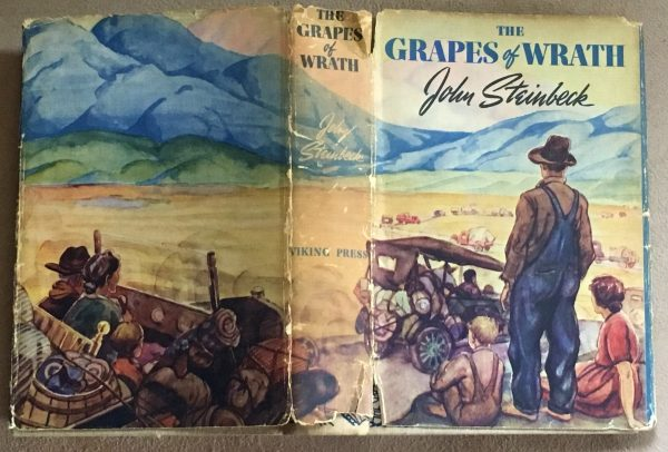 Grapes of Wrath book jacket