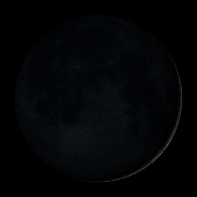 new or black moon