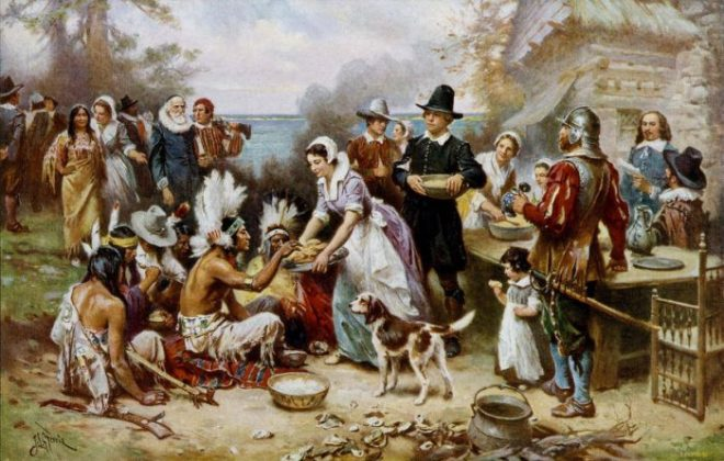 traditional first thanksgiving