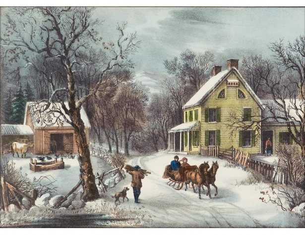 winter currier ives
