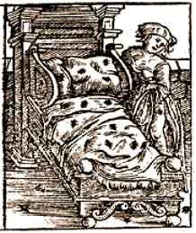 plague bed