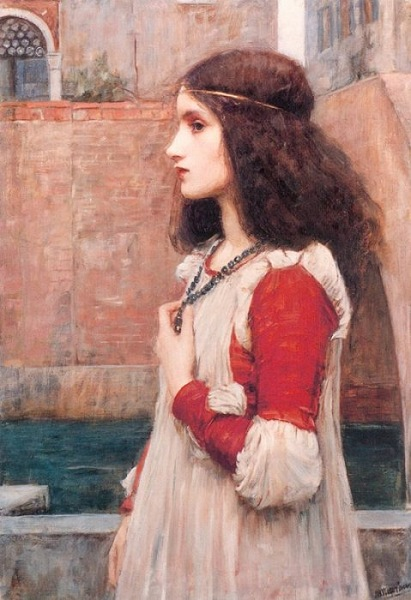 Juliet by J.W.Waterhouse, 1898