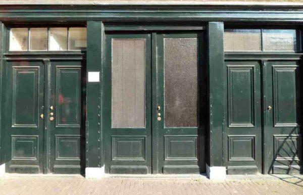 ane frank house door