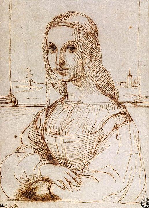 Lisa by Raphael