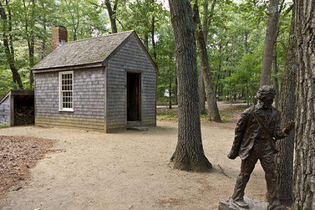 Walden cabin